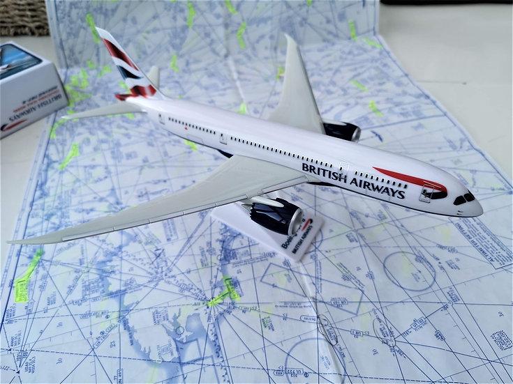 British Airways 787 model brand new with box