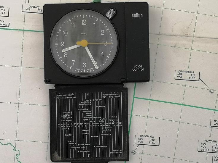 British Airways Poundstretcher working travel clock