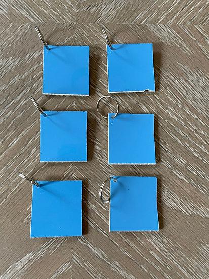 TUI D-ABKA skin square key ring