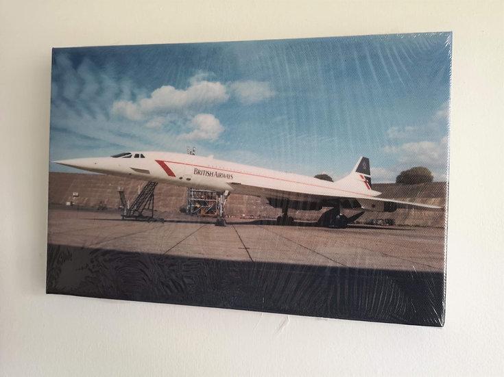 Concorde Canvas 100x75cm