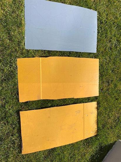 Thomas Cook LY-VEF Yellow large Rectangular Skin Cut