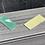 """Thumbnail: Alitalia A321  """"l"""" lettering squares green off cut"""