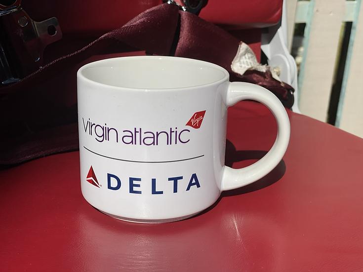 Virgin Atlantic/Delta collaboration mug