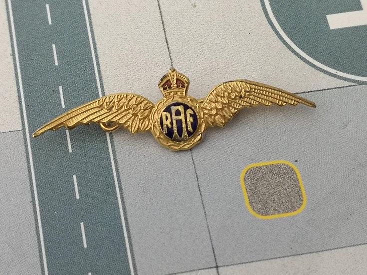 new RAF wings badge
