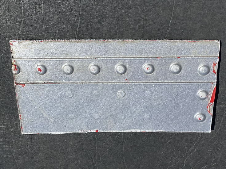G-GDFH B733 square skin section with rivets off cut
