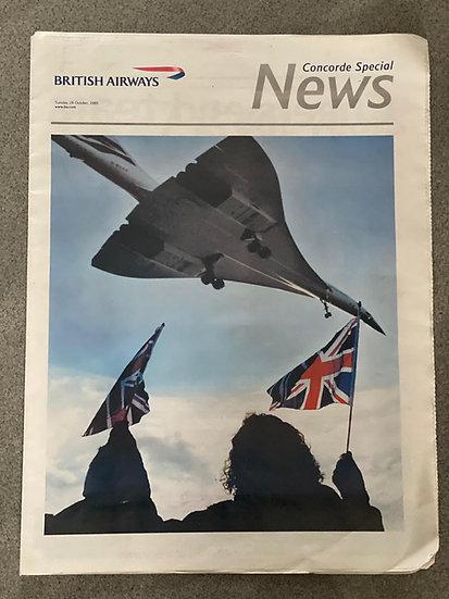 British Airways News - Concorde Special