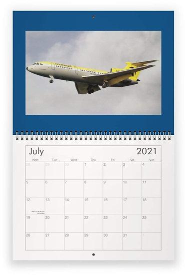HS Trident wall calendar
