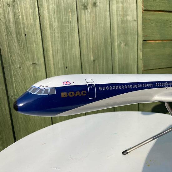 BOAC VC10 1:100 model resin/fibreglass mode