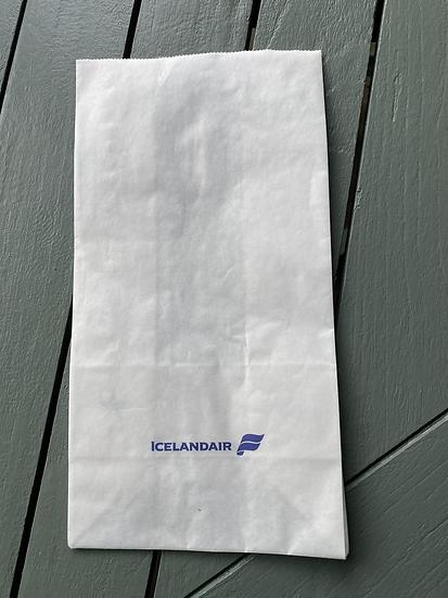 Icelandair Air Sickness Bag