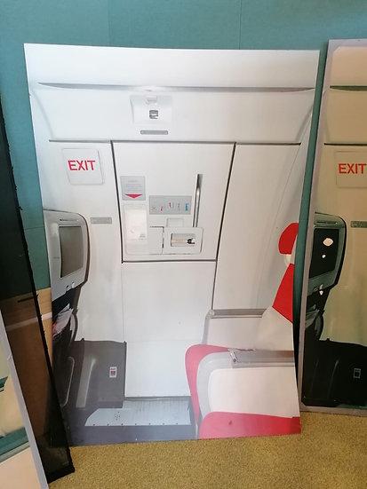 Sim training door- A340 overwing exit