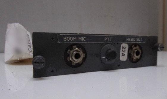 British Airways G-AWNA B747-100 BOOM MIC panel