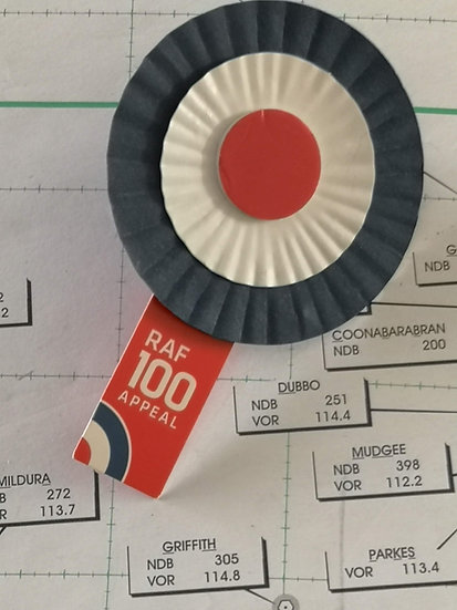 RAF 100 Anniversary badge