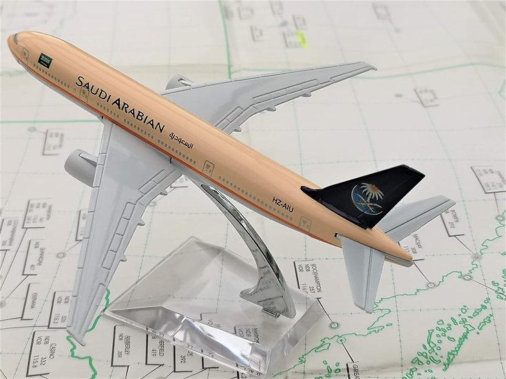 Saudi 777 model with box