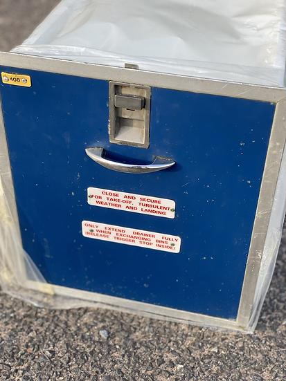 Britannia B757 galley ice drawer bucket