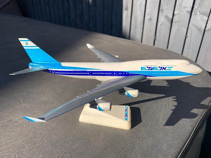 El Al 747-400 Wooster Model