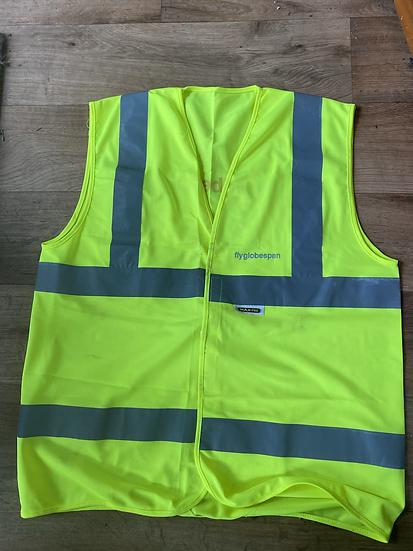 Airline branded Hi-Viz vests - price per item