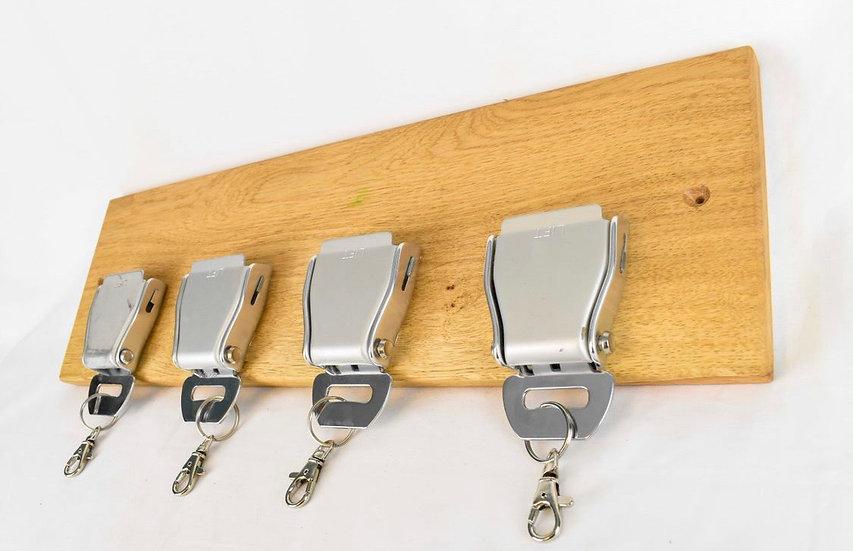 Set of 4 belt buckle rack