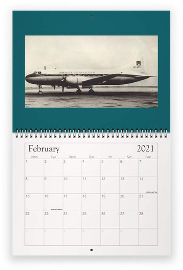 PIA wall calendar