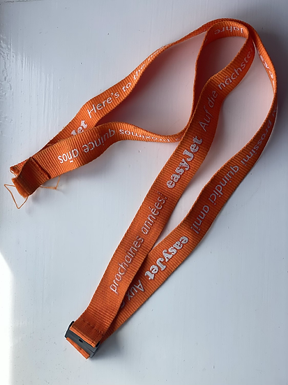 Easyjet 15 years lanyard (no tag on end)