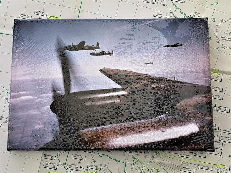 Lancaster Formation canvas 30x20cm