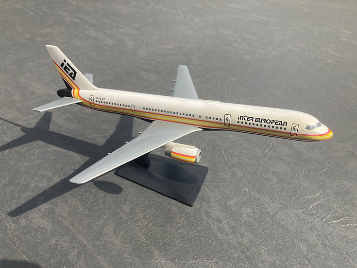 Inter European 757-200 model