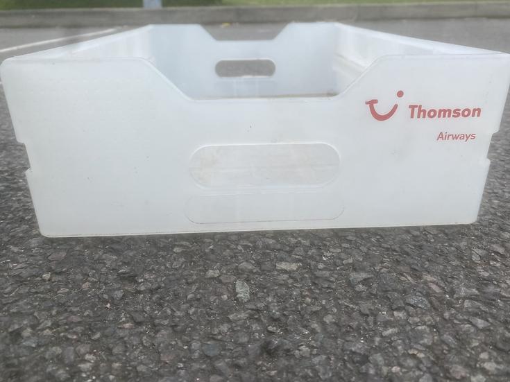 Thomson Airways trolley drawer
