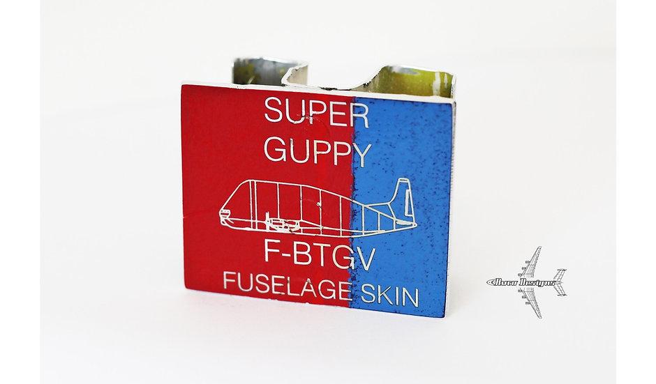Super Guppy F-BTGV Fuselage Skin Structure Cut