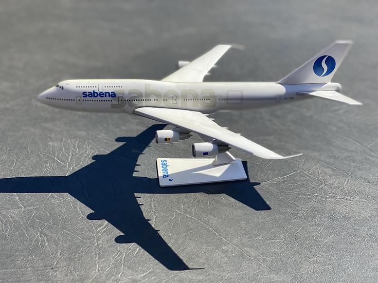 Sabena 747-300 aircraft model