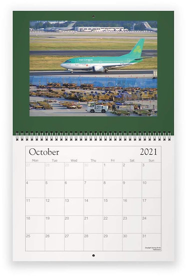 Aer Lingus over the years wall calendar