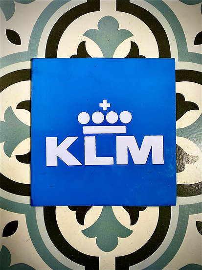 KLM PH-BFF B747-406M Combi Skin Square with decal