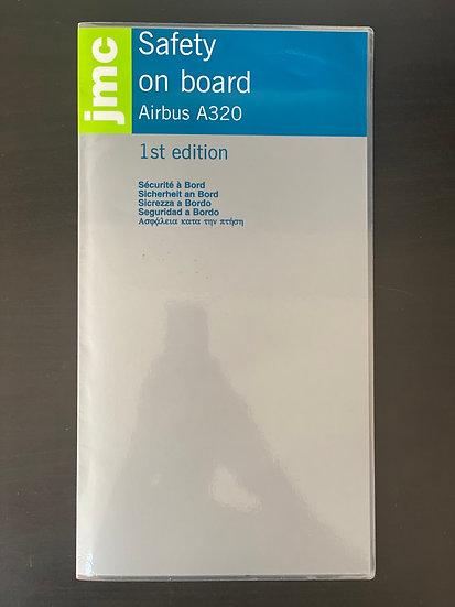 JMC A320 safety card