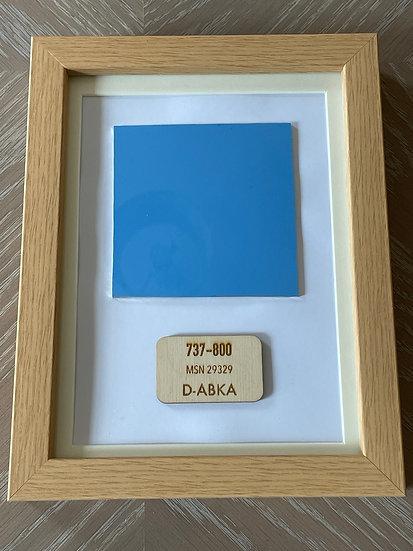 TUI D-ABKA framed skin square