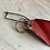 Thumbnail: MD80 steering bypass (nappy) pin with remove before flight flag