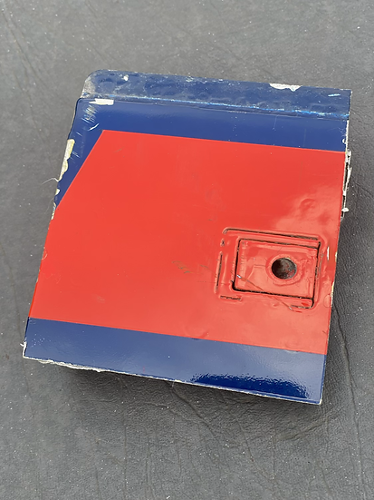 BAe125 CCA Reg ZD704 cowling Skin section with mechanism red and blue