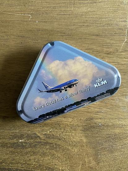 KLM mint tin