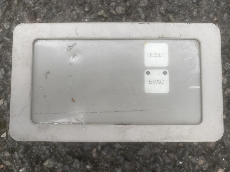 Airbus aft cabin attendant panel