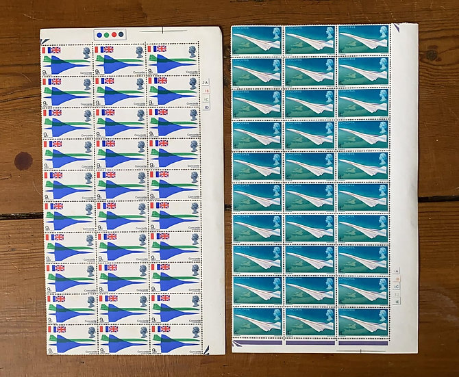 Concorde stamps
