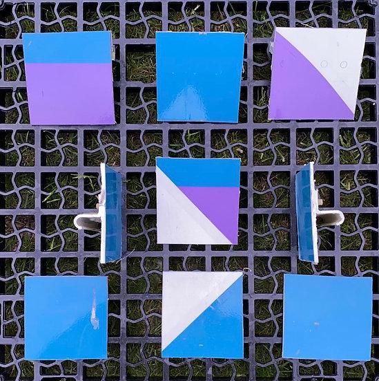 Thomas Cook G-MDBD rainbow heart squares 2  colour