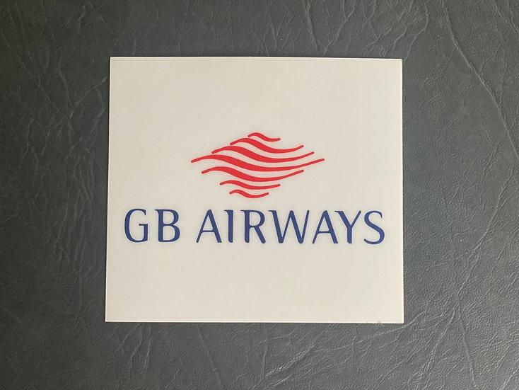 GB Airways Sticker