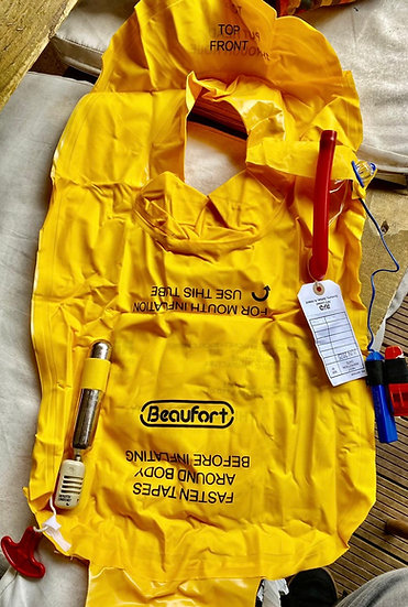 Thomas Cook A330 life jacket