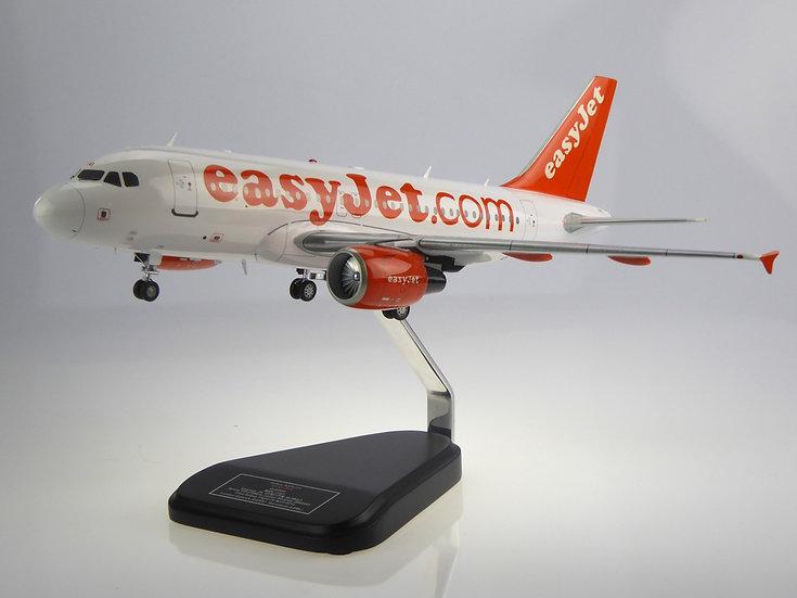 Easyjet A319 1:76 model
