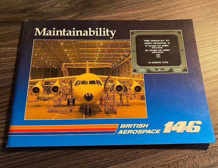 BAE 146 maintainability manual