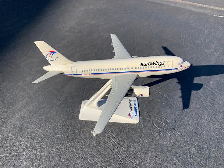 Eurowings A319 Wooster model