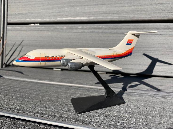 United Express BAe146 aircraft model