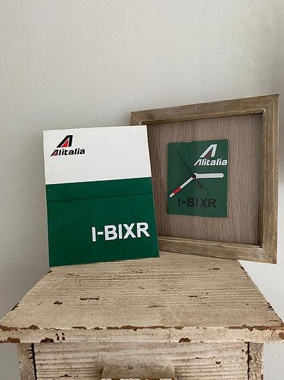 Alitalia fuselage and clock pack