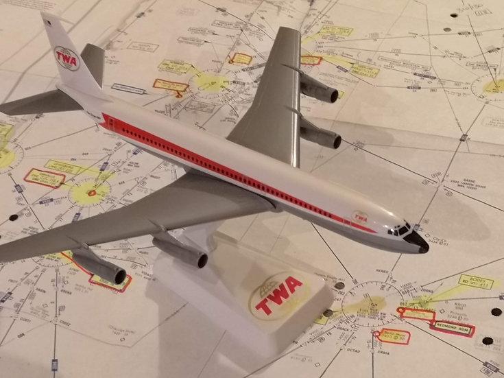 TWA Boeing 707 model no box