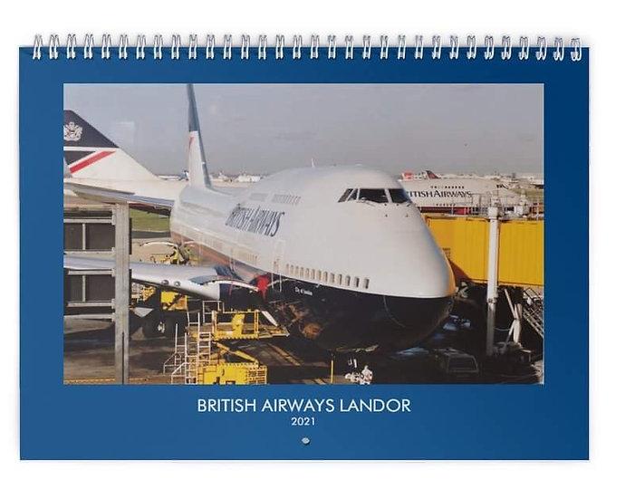 BA landor wall calendar