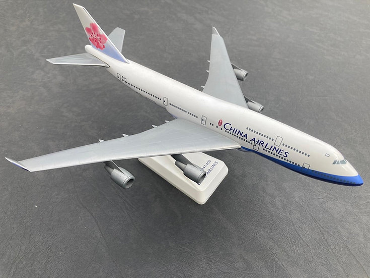 China Airlines 747 model