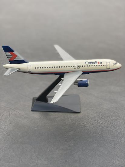 Canadian A320 aircraft model
