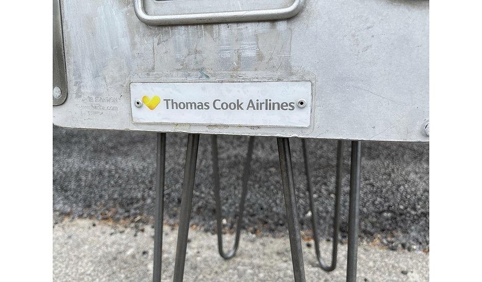 Ex Thomas Cook Airlines atlas box storage unit/table